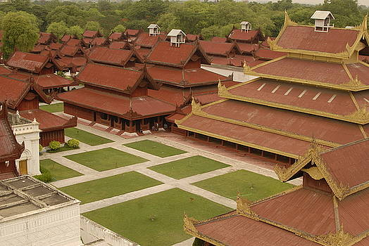 Mandalay Palace by Timothy Leonard