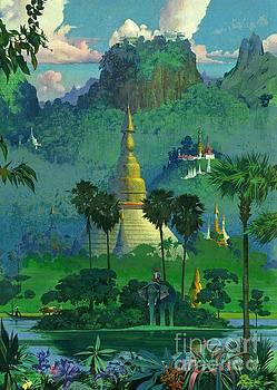 Mandalay by Robert McGinnis