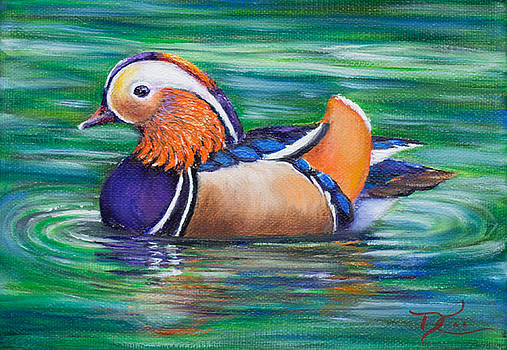 Dee Carpenter - Mandarin Duck