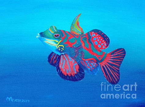 Mandarin the Fish by Michael Allen