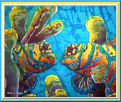 Sue Duda - Mandarinfish- Bordered