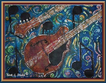 Sue Duda - Mandolin - Bordered