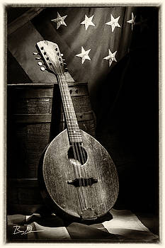 Mandolin America Antique by Barry C Donovan
