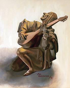 Mandolin Player by Phil Chadwick