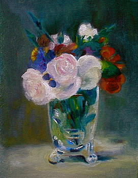 Manet Reproduction by Diane Woods