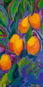 Mangoes Purple Sky by Beth Cooper