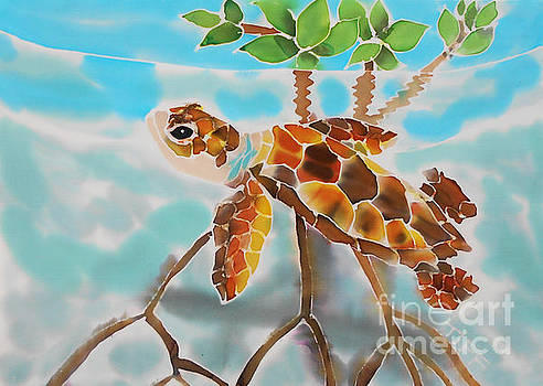 Mangrove Baby Turtle by Tiff