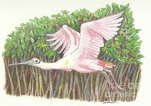 Mangrove Flyer by Sue Bonnar
