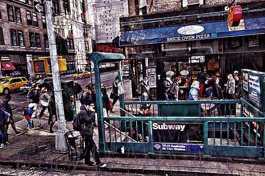 Manhattan 14th Street by Joan Reese