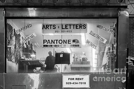 Manhattan Art Supply Store by Thomas Marchessault