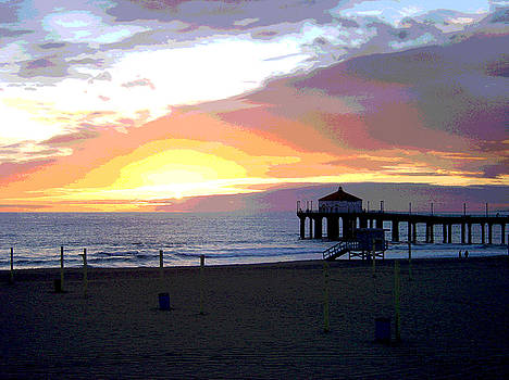 Manhattan Beach 1478 by South Bay Skies
