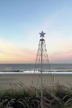 Art Block Collections - Manhattan Beach Christmas Star