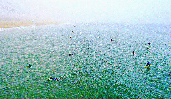 Glenn McCarthy Art and Photography - Manhattan Beach - Early Morning Surf