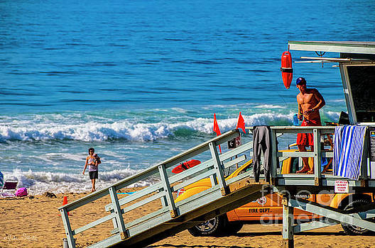 Julian Starks - Manhattan Beach Lifeguard