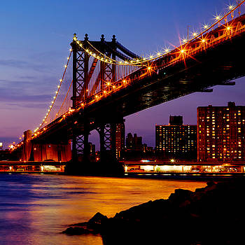 Dave Hahn - Manhattan Bridge at Dusk