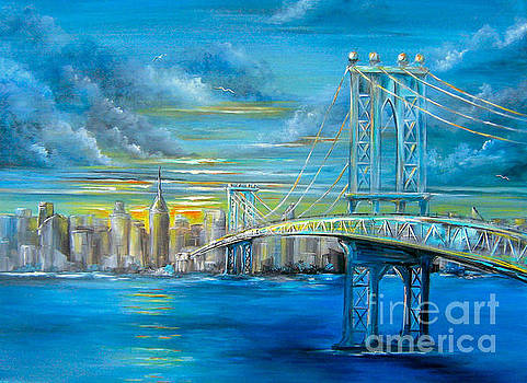 Manhattan Bridge by Patrice Torrillo