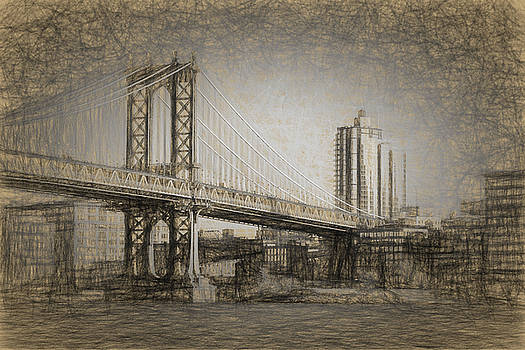 Manhattan Bridge by Thomas Logan