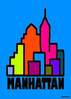 Manhattan Colors by Alexander Aristotle
