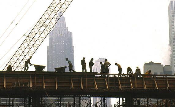 Manhattan Construction by Erik Falkensteen