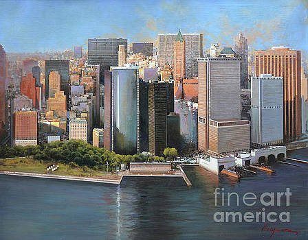 Manhattan by Jose Higuera