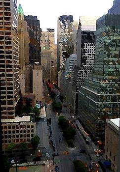 Manhattan, Park Avenue by Peggy De Haan