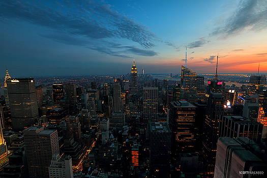 Manhattan by Scott Fracasso