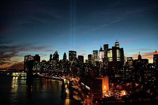 Manhattan Skyline 9/11/16 by Elom Bowman