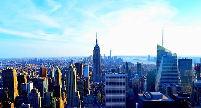 Manhattan Skyline by Ashadd Lewis