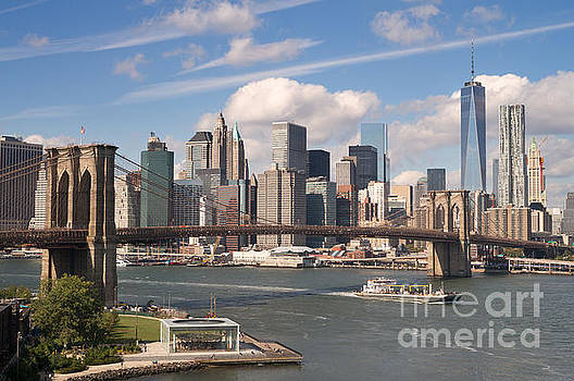 Manhattan Skyline by Bryan Attewell