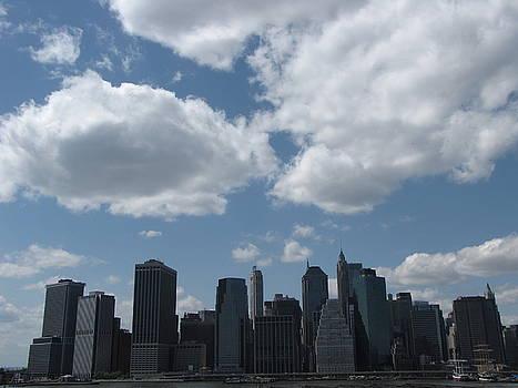 Manhattan Skyline by Peter Aiello