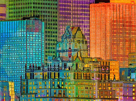 Nina Bradica - Manhattan Skyscrapers