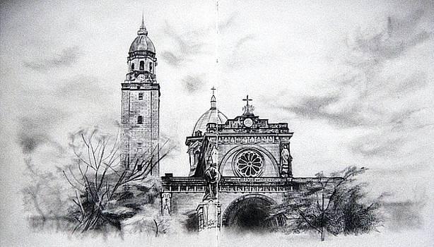 Manila Cathedral by Ann Supan