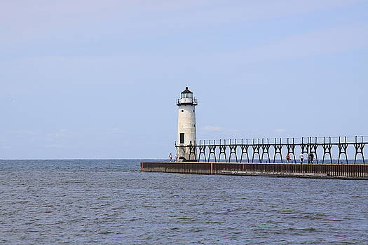 Manistee Lighthouse by Chuck Bailey
