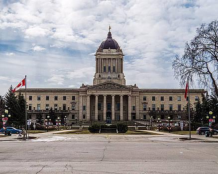 Manitoba Legislative Building by Tom Gort