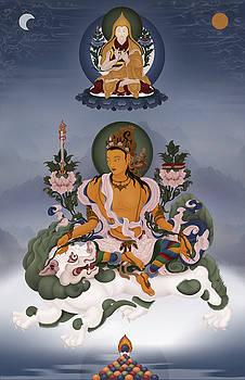 Manjushri Bodhisattva by Ben Christian
