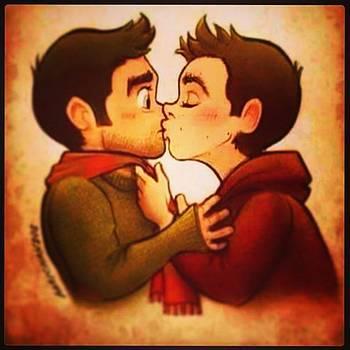 #manlove #kiss #love 👬 by Oscar Lopez