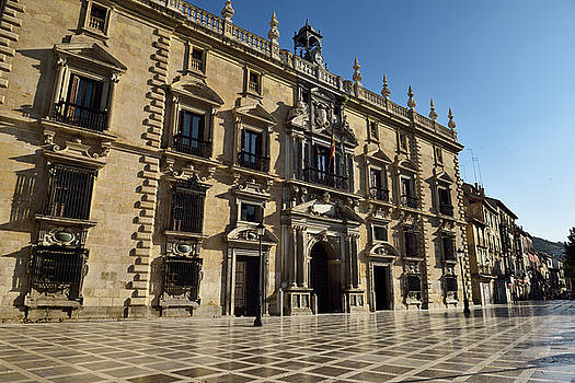 Reimar Gaertner - Mannerist facade of the Royal Chancery of Granada now Superior C