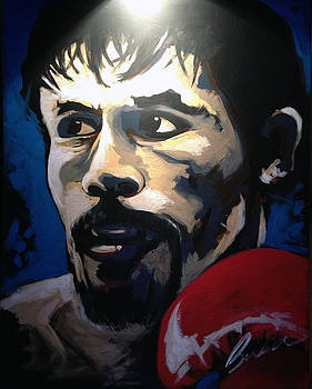 Manny Pacquiao - 2015 Speed Painting by Robert Busse