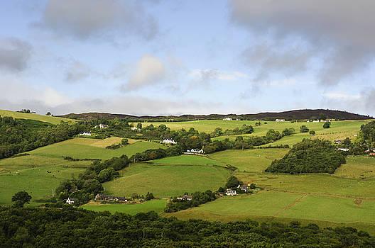 Manors on a Hillside by Christi Kraft