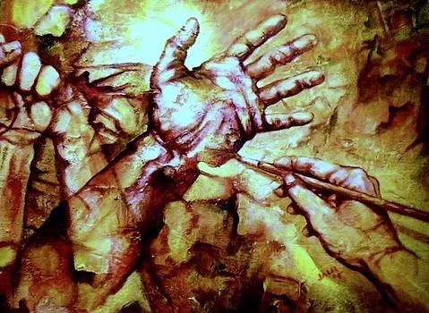Manos by Jesus Alberto Arbelaez Arce