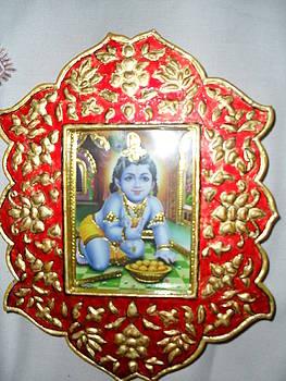 Manoth Painting Tanjore Painting by Vijaya