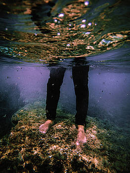 Man's Leg by Gemma Silvestre