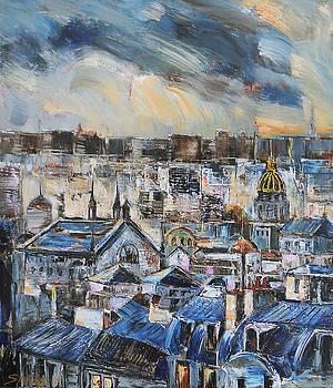 Mansards in Blue by Stefano Popovski