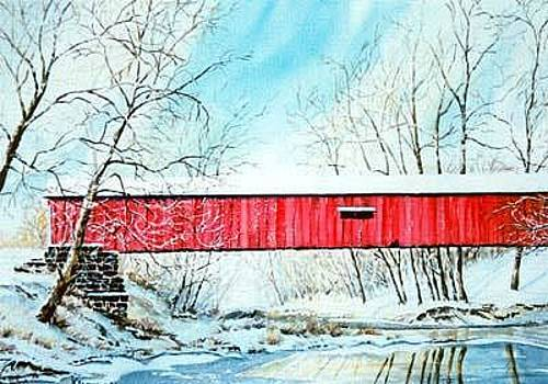 Mansfield Bridge by Kris Killman