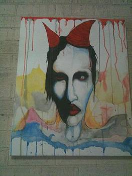 Manson Watercolour Painting by Dwight  Dixon