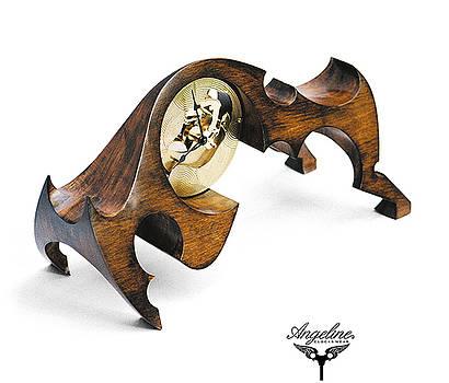Mantel clock Europa by Matej Zorec