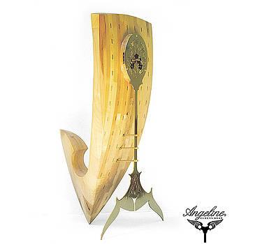 Mantel clock Veronika by Matej Zorec