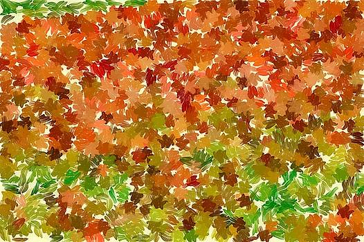 Many colored leaves by Ashish Agarwal