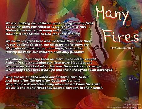 Many Fires by Kathleen Luther