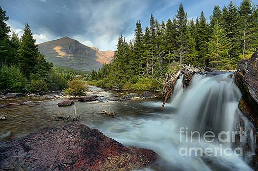 Adam Jewell - Many Glacier Red Rock Falls